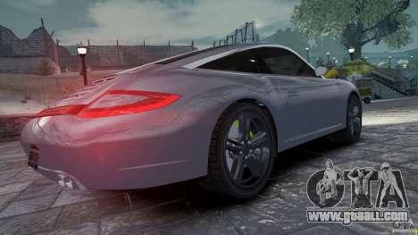 Porsche Targa 4S 2009 for GTA 4 right view