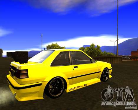 GTA VI Futo GT custom for GTA San Andreas back left view