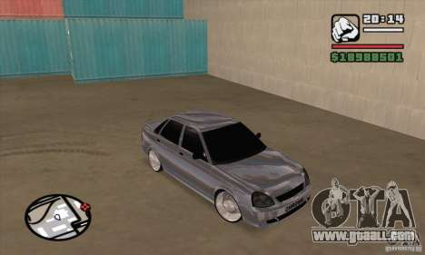 LADA 2170 Chrome for GTA San Andreas
