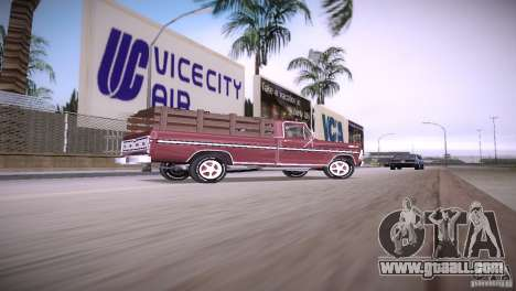 Ford F-100 1981 for GTA Vice City left view