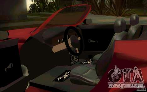 Plymouth Prowler for GTA San Andreas back view