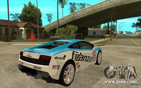 Lamborghini Gallardo LP560 for GTA San Andreas right view