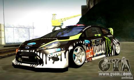 Ford Fiesta Gymkhana 4 for GTA San Andreas