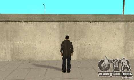 Niko Bellic for GTA San Andreas third screenshot