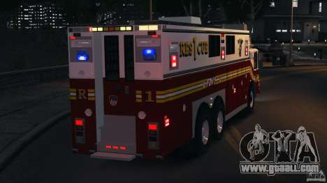 FDNY Rescue 1 [ELS] for GTA 4 bottom view