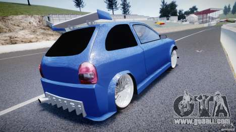 Chevrolet Corsa Extreme Revolution for GTA 4 back left view