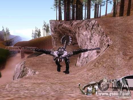 Dragon v2.0 for GTA San Andreas third screenshot