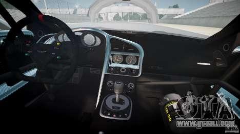 Audi R8 for GTA 4 upper view