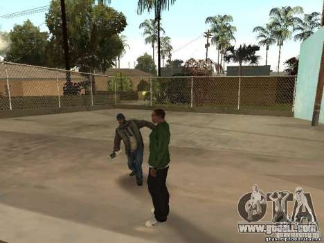 Other people's behavior for GTA San Andreas