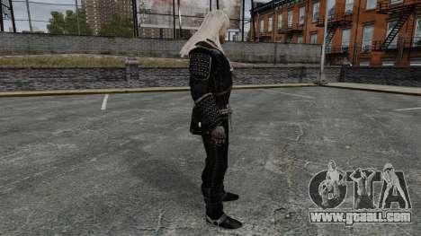 Geralt of Rivia v7 for GTA 4 second screenshot