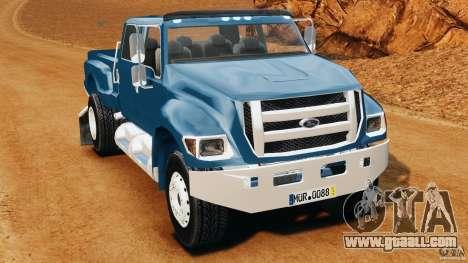 Ford F-650 XLT Superduty for GTA 4