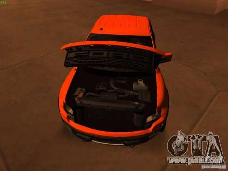 Ford F-150 SVT Raptor 2009 Final for GTA San Andreas inner view