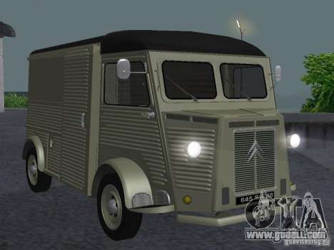 Citroen HY 1972 for GTA San Andreas left view