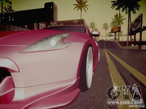 Nissan 370Z Fatlace for GTA San Andreas engine