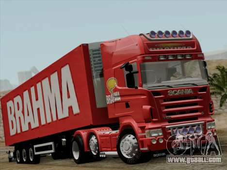 Scania R620 Brahma for GTA San Andreas left view