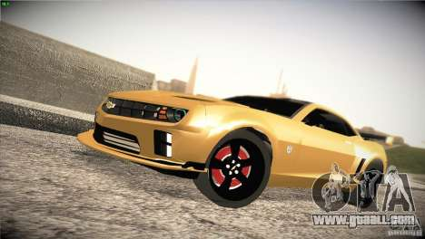 Chevrolet Camaro SS Transformers 3 for GTA San Andreas