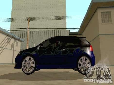 Volkswagen Golf V GTI for GTA San Andreas side view