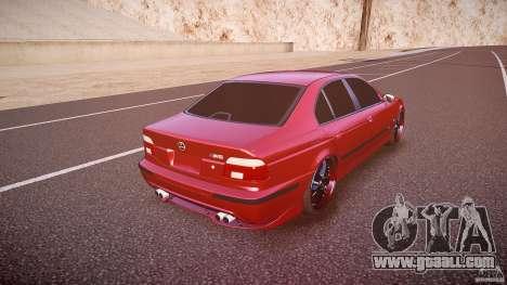 BMW M5 E39 Hamann [Beta] for GTA 4 upper view