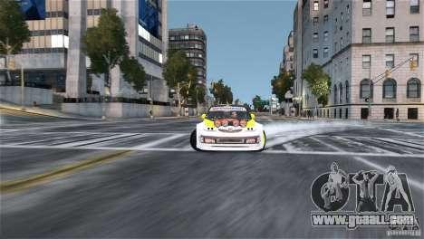Subaru Impreza WRX STI Rallycross Monster Energy for GTA 4 back view