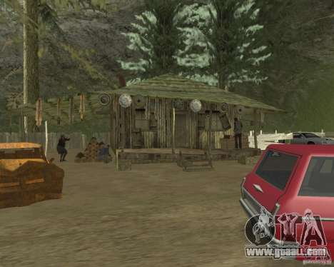 On a visit to Grandma for GTA San Andreas fifth screenshot