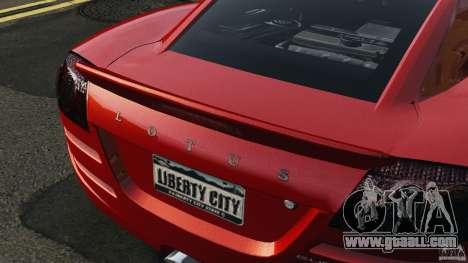 Lotus Europa S for GTA 4 inner view