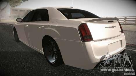 Chrysler 300 SRT8 2012 for GTA San Andreas back left view