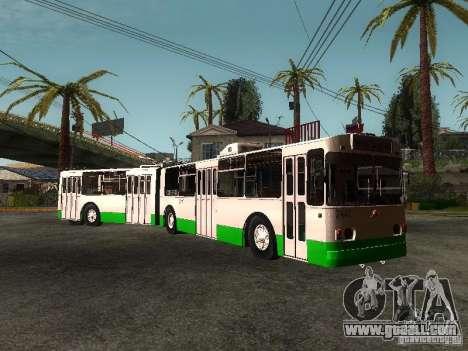 ZiU 683 for GTA San Andreas right view