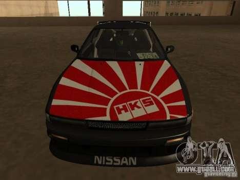 Nissan Silvia S13 JDM for GTA San Andreas