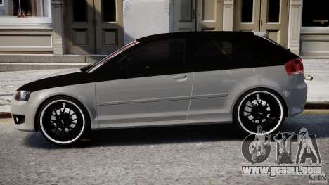 Audi S3 for GTA 4 back left view