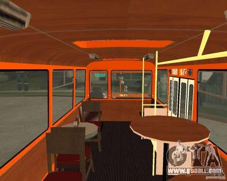 LIAZ-677 (Café moment) for GTA San Andreas back left view
