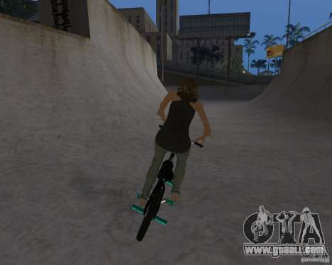 Tony Hawks Emily for GTA San Andreas third screenshot