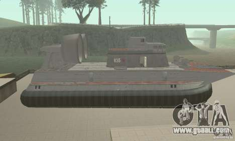 Hovercraft for GTA San Andreas back left view