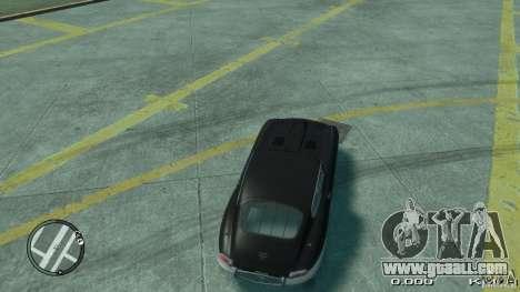 Jaguar XK E-type for GTA 4 back left view