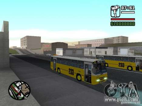 Ciferal GLS Volvo B10M for GTA San Andreas back view