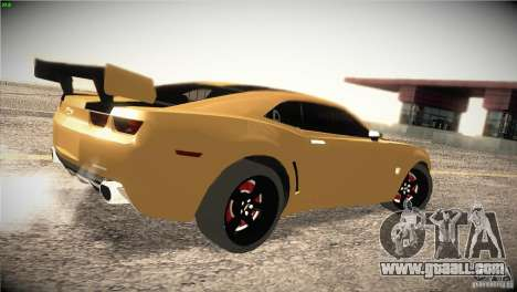 Chevrolet Camaro SS Transformers 3 for GTA San Andreas right view