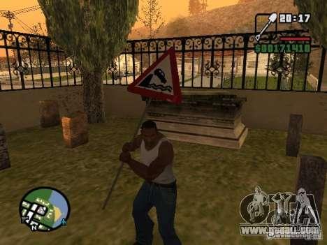Road sign for GTA San Andreas third screenshot