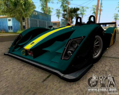 Caterham Lola SP300R for GTA San Andreas right view