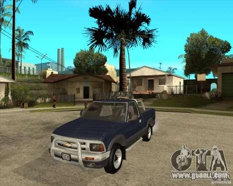 1996 Chevrolet Blazer pickup for GTA San Andreas
