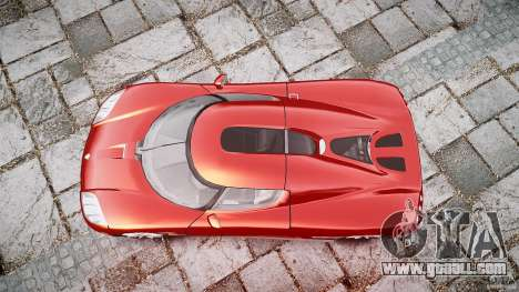 Koenigsegg CCX v1.1 for GTA 4 side view