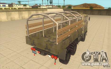 IFA 6x6 Army Truck for GTA San Andreas back left view