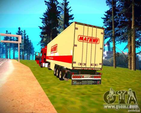 Semi-trailer for GTA San Andreas back left view