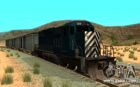 San Andreas Beta Train Mod for GTA San Andreas left view
