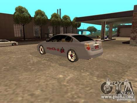 NISSAN ALTIMA for GTA San Andreas left view