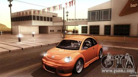Volkswagen Beetle RSi Tuned for GTA San Andreas engine