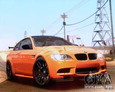 BMW M3 GT-S 2011 for GTA San Andreas