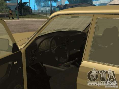 GAZ 3110 for GTA San Andreas back view