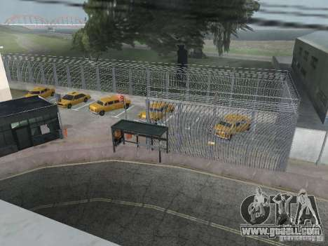 The first taxi Park version 1.0 for GTA San Andreas second screenshot