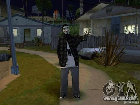 The New Grove Anonymus for GTA San Andreas second screenshot