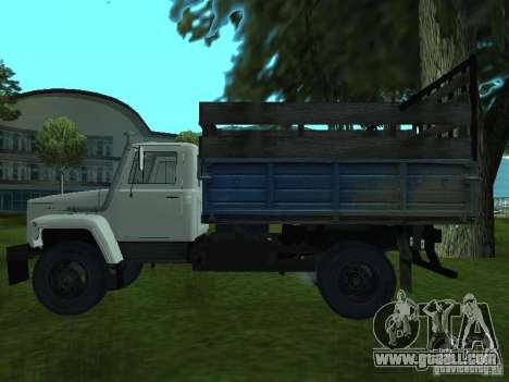 GAZ 3309 for GTA San Andreas left view