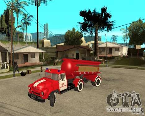 The AB-6 fire truck (130В1) for GTA San Andreas